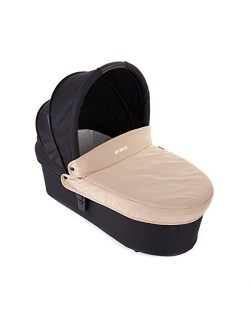 Baby Monsters - Capazo para Silla Globe + Cubre Capazo + Regalo Pack con dos baberos - Color Arena Danielstore