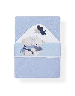 Capa de Baño Volamos Baby Azul