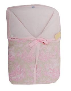 Saco capazo de invierno bebe universal de lana ( danielstore ) Color rosa