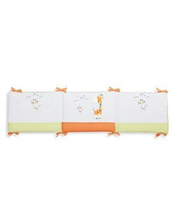 INTERBABY, paragolpes, 45 x 185 cm, Orange (Naranja)