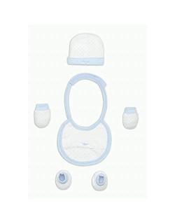 Set Primera Puesta 4 Piezas Azul - Regalos bebé MINDOO