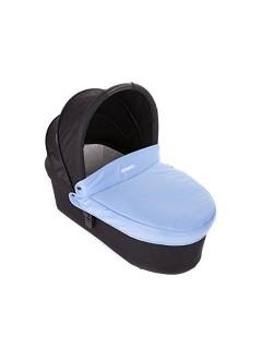 Baby Monsters - Capazo para Silla Globe + Cubre Capazo + Regalo Pack con dos baberos - Color Azul Mediterranean - Danielstore