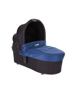 Baby Monsters - Capazo para Silla Globe + Cubre Capazo + Regalo Pack con dos baberos - Color Azul Midnight - Danielstore