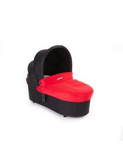 Baby Monsters - Capazo para Silla Globe + Cubre Capazo + Regalo de un babero- Color Rojo - Danielstore
