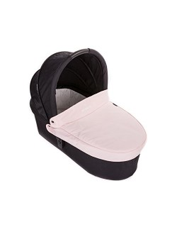 Baby Monsters - Capazo para Silla Globe + Cubre Capazo + Regalo Pack con dos baberos - Color Rosa Cupcake- Danielstore