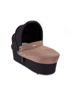 Baby Monsters - Capazo para Silla Globe + Cubre Capazo + Regalo Pack con dos baberos - Color Taupe - Danielstore