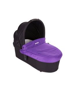 Baby Monsters - Capazo para Silla Globe + Cubre Capazo + Regalo Pack con dos baberos - Color Morado - Danielstore