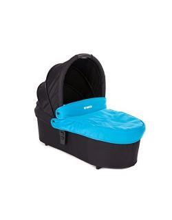 Baby Monsters - Capazo para Silla Globe + Cubre Capazo + Regalo Pack con dos baberos - Color Turquesa - Danielstore