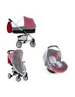 Hauck Protect Me - Mosquitera universal / red anti insectos universal para grupo 0, capazo carro, silla de paseo y cuna de viaje