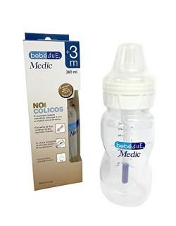 BebéDue - Biberón Anticólico Medic BebéDue 260 ml, 3m+