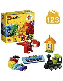 LEGO Classic - Ladrillos e Ideas, juguete didáctico, creativo y divertido para construir (11001)