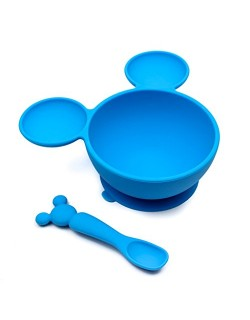 Cuenco con ventosa -Set de Silicona Mickey Mouse Disney