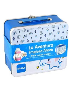Pack Recien Nacido -Biberon Anti-colic+Chupete Perfect 0+meses