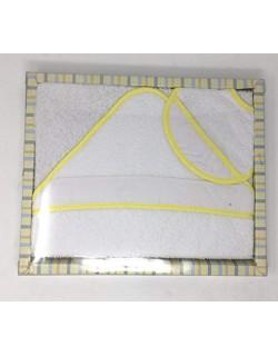 Manta/Arrullo 100% algodón de doble capa (una cara lisa y la otra rizada) para bebé