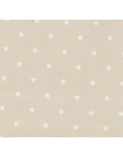 Pirulos 43400510 - Protector para cuna, color blanco y lino