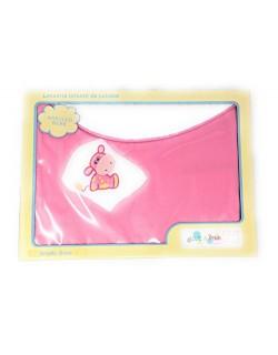 Manta/Arrullo 100% algodón de doble capa (una cara lisa y la otra rizada) para bebé - Danielstore