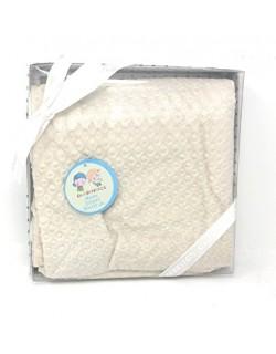 Danielstore - Manta bebe circulos multiusos bebe 80 cm x 110 cm