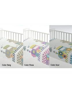 Manta infantil cuna Color Printed D67 de Mora