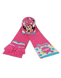 Set bufanda gorro guantes Minnie Disney 50-52