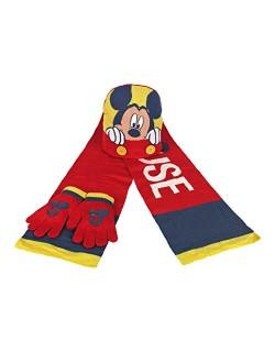 Set bufanda gorro guantes Mickey Disney 50-52