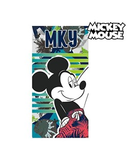 Artesanía Cerdá 2200002158 Toalla Playa algodón, diseño Mickey Mouse