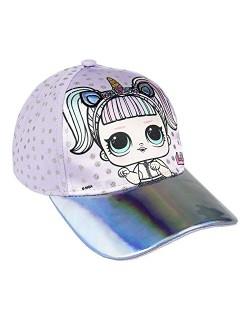 lol surprise - Sombrero - para niña Morado Malva 48 cm