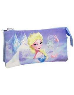 Disney Frozen- Estuche, Color Azul, Uacutenica (Cerdá 2100000544)