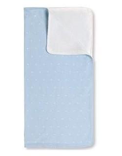 Bimbi- Arrullo de piqué Colección Dots - medidas 75x75