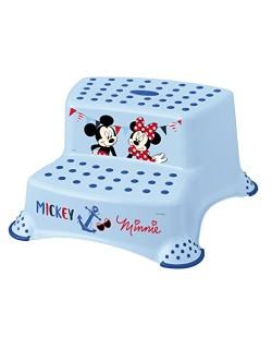 DISNEY Taburete Mickey Azul Doble Escalón