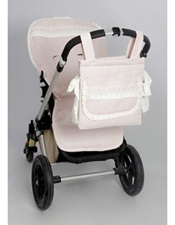 Funda Silla para Bugaboo + Talega ( Serie Panal ) Color rosa