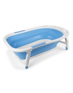 Bañera Bebé Plegable - Bañeras para bebés y bañeras de viaje color azul