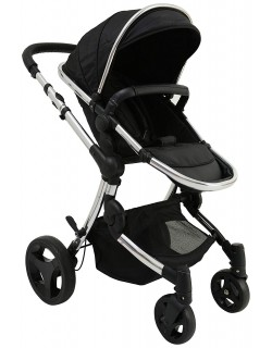 Baby Monsters Premium - Silla de paseo, color negro
