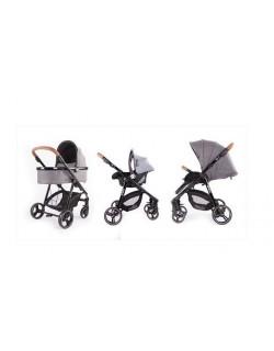 Baby Monsters Fresh 3.0 Texas 3 Peças (cadeira + carrycot + grupo 0 ) + Presente base Isofix para...