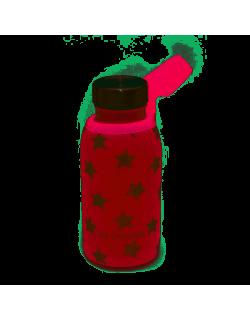 Garrafa térmica com cobertura de neoprene rosa olmitos de 350 ML