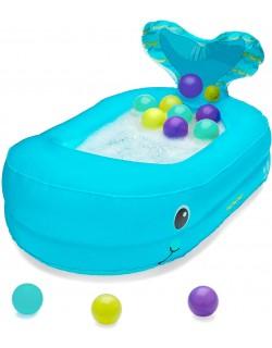 Bañera hinchable de ballena con bolas para jugar Infantino 205016 -