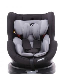 Silla de Auto 0-1-2-3 Titan Baby Monsters Color Carbón