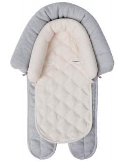 Baby Monsters Double Cushion - Adaptadores Para Sillas De Coche, Gris/Beige
