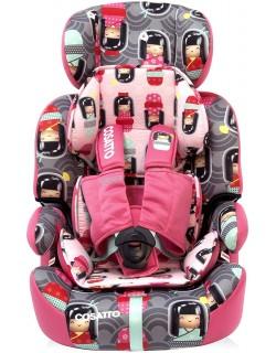 Cosatto zoomi GRP 123 – Asiento de coche para niños (sonrisa de muñecas Kokeshi)