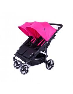 copy of NOVA Easy Twin 3.S.LITE Twin Chair com Baby Monsters Normal Ride Hood - Cor Vermelha...
