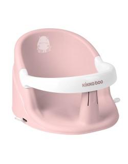 Asiento de baño Hippo de Kikkaboo Color rosa