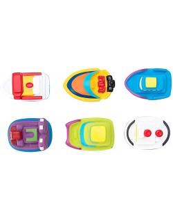 Juguetes de baño- Bote 6 unidades Motivo barcos