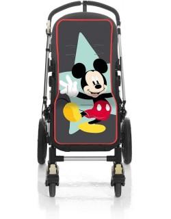 Colchoneta silla de paseo Universal Tejido 3D-Mickey geo Disney