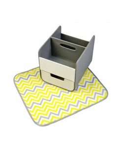 Organizador Cajita de Pañales Koo-di b.box - Amarillo Suave