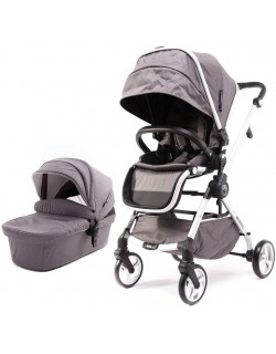 Carro Duo MARLA 2 piezas (Silla y Capazo) Carro Ligero y Compacto Baby Monsters-