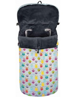 Saco Silla Paseo Universal Little Monsters Interbaby