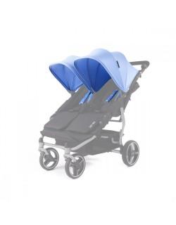 Set 2 capotas y 4 arneses  Reversible para silla Easy twin de Baby Monsters color mediterranean