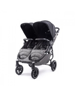 Silla Gemelar Easy Twin 4 Chasis Negro Baby Monsters