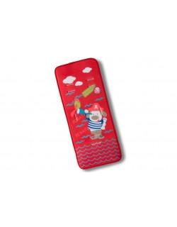 Colchoneta Silla de Paseo Universal Tejido 3D-Pirata rojo