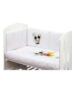 Edredon y Chichonera para Cuna 60 x 120 cm Coleccion Disney Mickey Geo