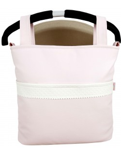 Bolso Carrito Bebé Talega Polipiel Gisele Color rosa